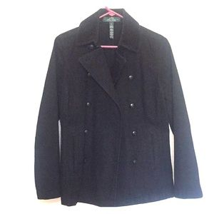 Lauren Ralph Lauren Black Denim Coat